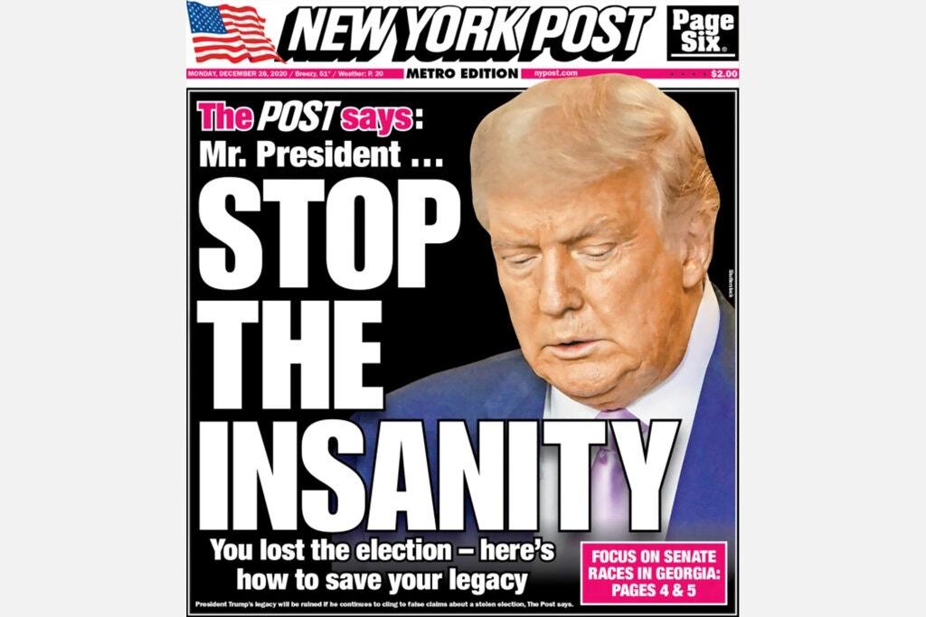 Trump a la desesperada